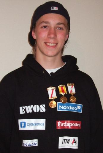 Lars Haugnes kanskje noe overraskende Landsdelskretsmester bane i klasse Junior med 348 poeng